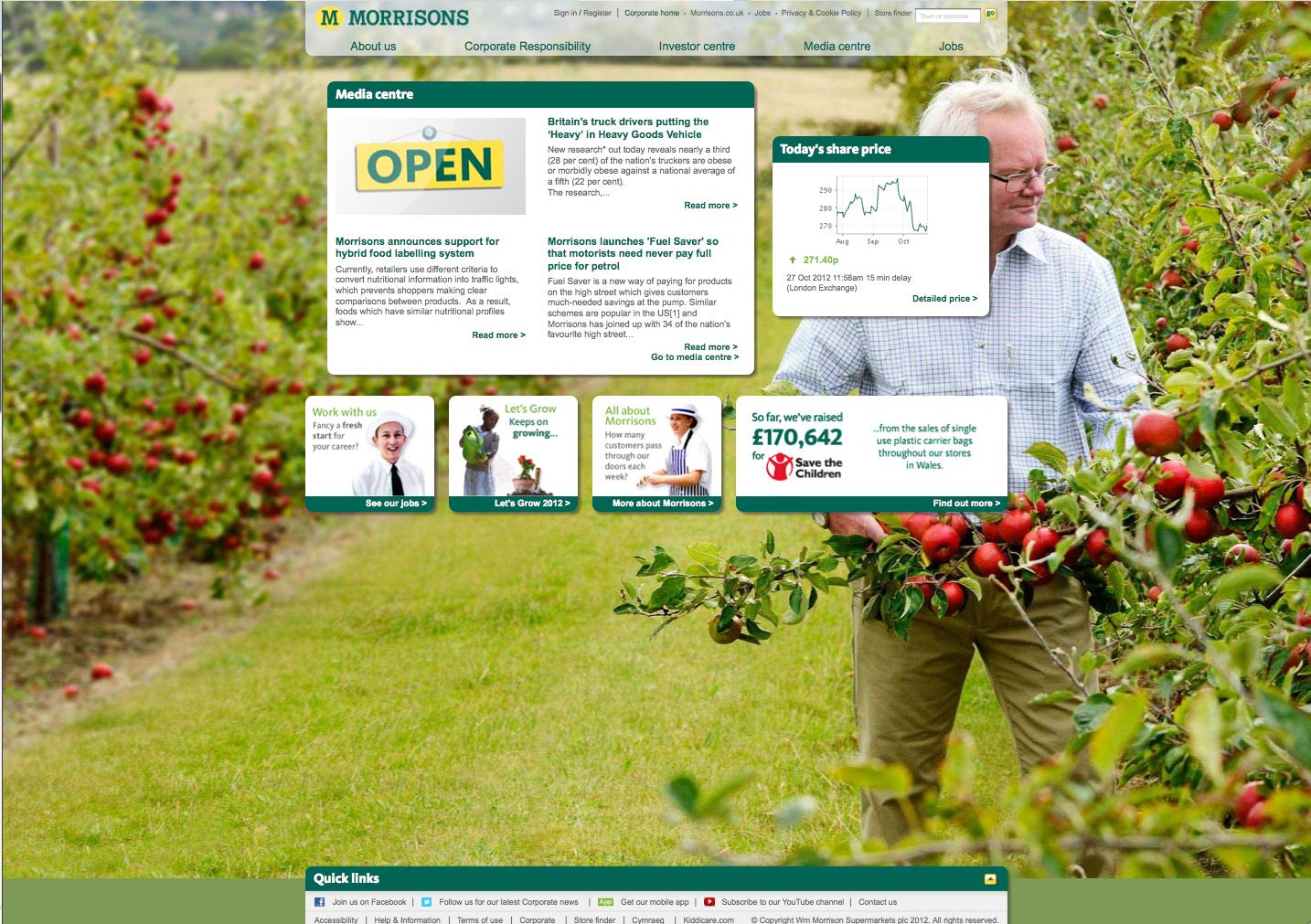 Morrisons Corporate Web Apples