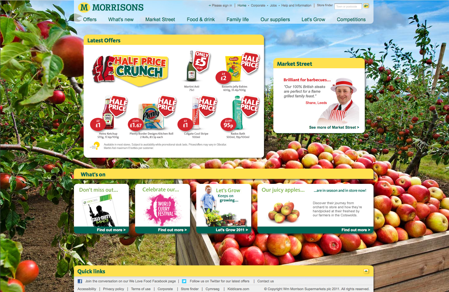 Morrisons Web Apples