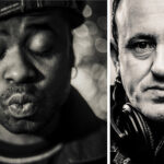 Portraits of DJs Juan Atkin & Danny Ramplings &