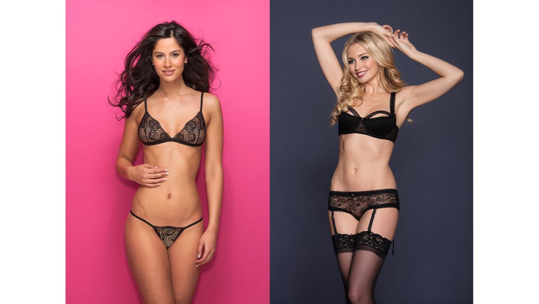 E-commerce lingerie photography